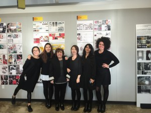 From left to right: Ying Zhang, Sophia Park, Stacy Evans, Eunice Kim, Sanchari Mahapatra and Tara Ellis