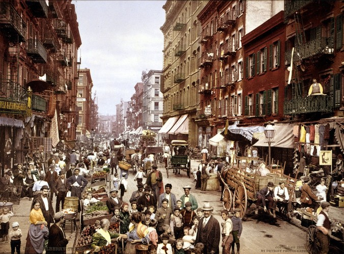 Mulberry Street, New York