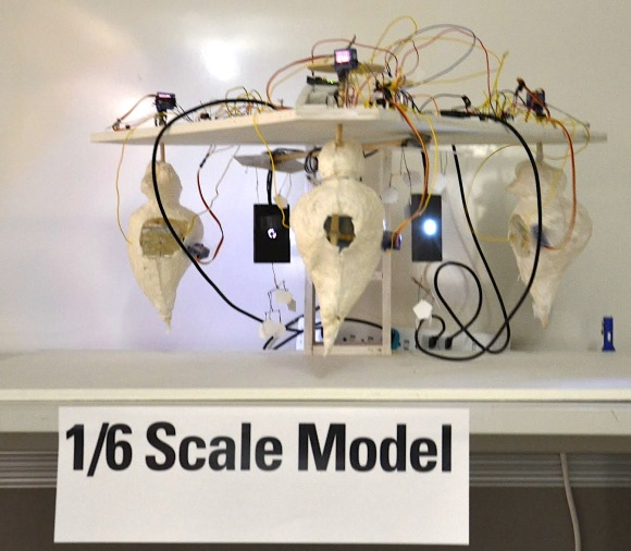 Colloquy scale model